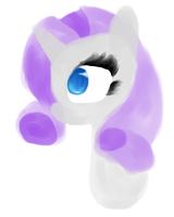 Rarity headshot by crazycatniplady