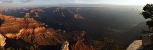 Sunrise At The Grand Canyon Final by arclance
