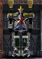 NASADA Initiative: Super Zeo MegaZord by spritepirate