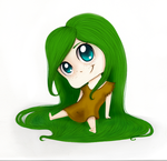 Chibi Greens by Echoleana