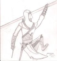 Altair quick Sketch by indy7738