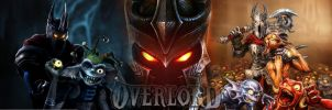 Overlord dual wallpaper by Toxigyn