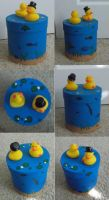 Dapper duck pond cookie box by mpudifoot