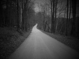 The Road To Nowhere by FrankWolfePhotograph