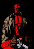 Hellboy by SlackerProdigy