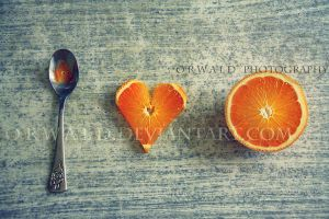 I love oranges by Orwald