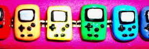 Gameboy Color Rings by TashaAkaTachi