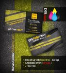 Rehabilitation Business Card by tommyhanus