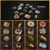 Assorted Sweets by ChewChewLovesYou