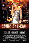 Party Flyer Saturday Escape by hawkmax
