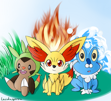 Choose your Starter by laciduspenna