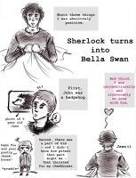 SHERLOCK TURNS INTO BELLA SWAN by arcticmonkeyy