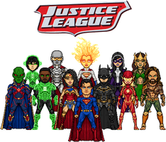 The Justice League by UltimateLomeli