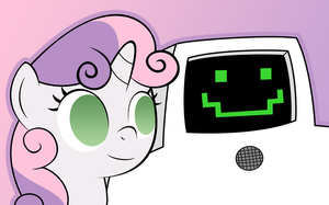 Sweetiebelle And Jailbot by TheMatrixman