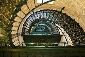 Currituck Lighthouse Stairs by greensh