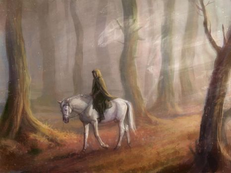 199 - Forest of Ghosts, Autumn by SnowSkadi