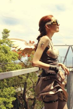 Steampunk -photoshoot- by LyNuth
