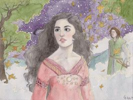 Luthien in Valinor by Maitia