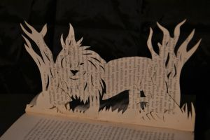 Book Art - Woodland scene V Second Book by blackphantom1412