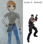 Leona S. Kennedy by miss-stuffandthangs