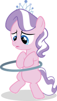 Diamond Tiara trying to do the loopty-hoop by Felix-KoT