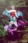 Morrigan and Lilith by HarleyBatmarta