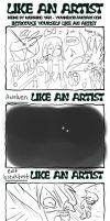 Like an artist meme by Kuro-fukurou
