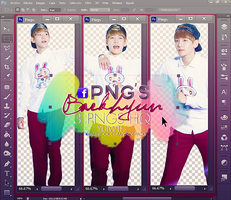 Pack Png Baekhyun by USucks