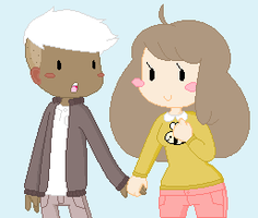 Bee and Puppycat Fan Art by BlizzardIceFox