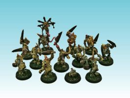 Nurgle Plaguebearers (3rd release) by Nergling