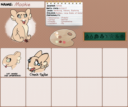 Mookie Reference Sheet Template by NoctistheDevious