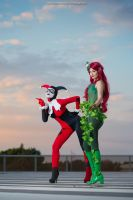 Harley Quinn and Poison Ivy - Amazing Duo by AlexysCosplay
