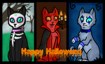 Happy Halloween! by CookieCandyCat