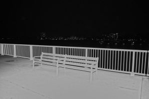 White bench by 13love88
