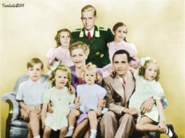 The Goebbels family by GrandDuchessIsabelle