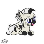 Filly Silent Thunder - Comission by mirry92