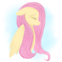 .FlutterShy - This day. by Little-Tamia
