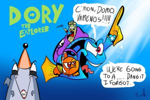 Dory the Explorer by miitoons