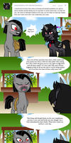 Ask Valier and Midnight by The-Clockwork-Crow