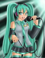 Hatsune Miku : Sing For You by GenkiIchigo