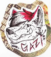Gazi Badge by dragonmelde