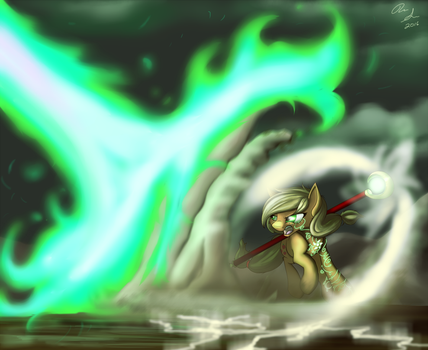 Fighting the Fire by InkyBeaker