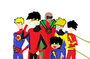 supermen of the multiverse by ermacisback