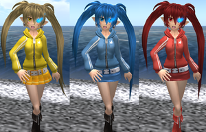 B.R.S. Outfit Colors 2 by xSakuyaChan510x