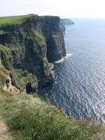 Cliffs of Moher II by Ahyicodae