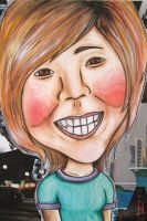 Caricature Portrait by ricecake000