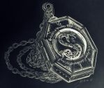 Slytherin's Locket #2 by HeineD
