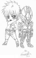 My Kamen Rider Diamond Chibi by Anime-Maika