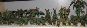 Tyranid Army by Pallas4