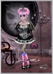 Monster High Prom - Rochelle by kharis-art